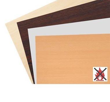 Tischplatten schwer entflammbar (B1)