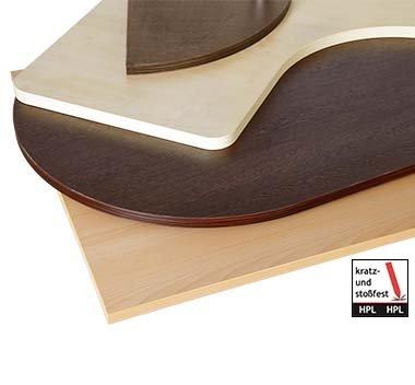 Tischplatten mit HPL-Beschichtung