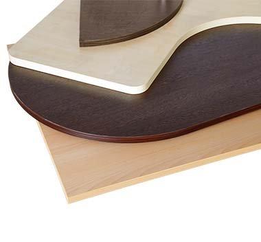 Tischplatten mit Melaminharzbeschichtung günstig kaufen!